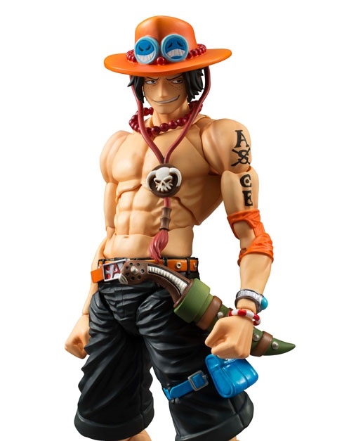 One Piece Variable Action Heroes Action Figure Portgas D