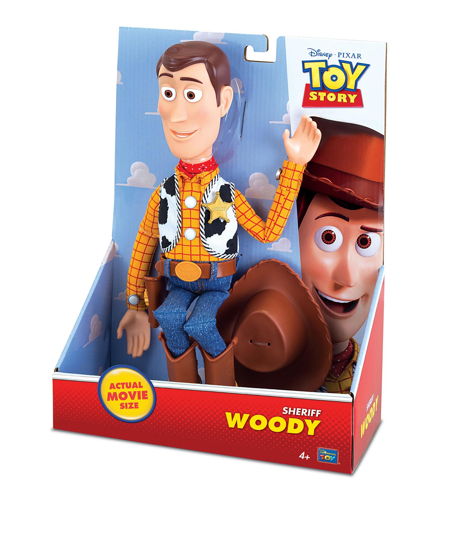 Toy Story Plush Action Figure Woody 37 cm - Animegami Store