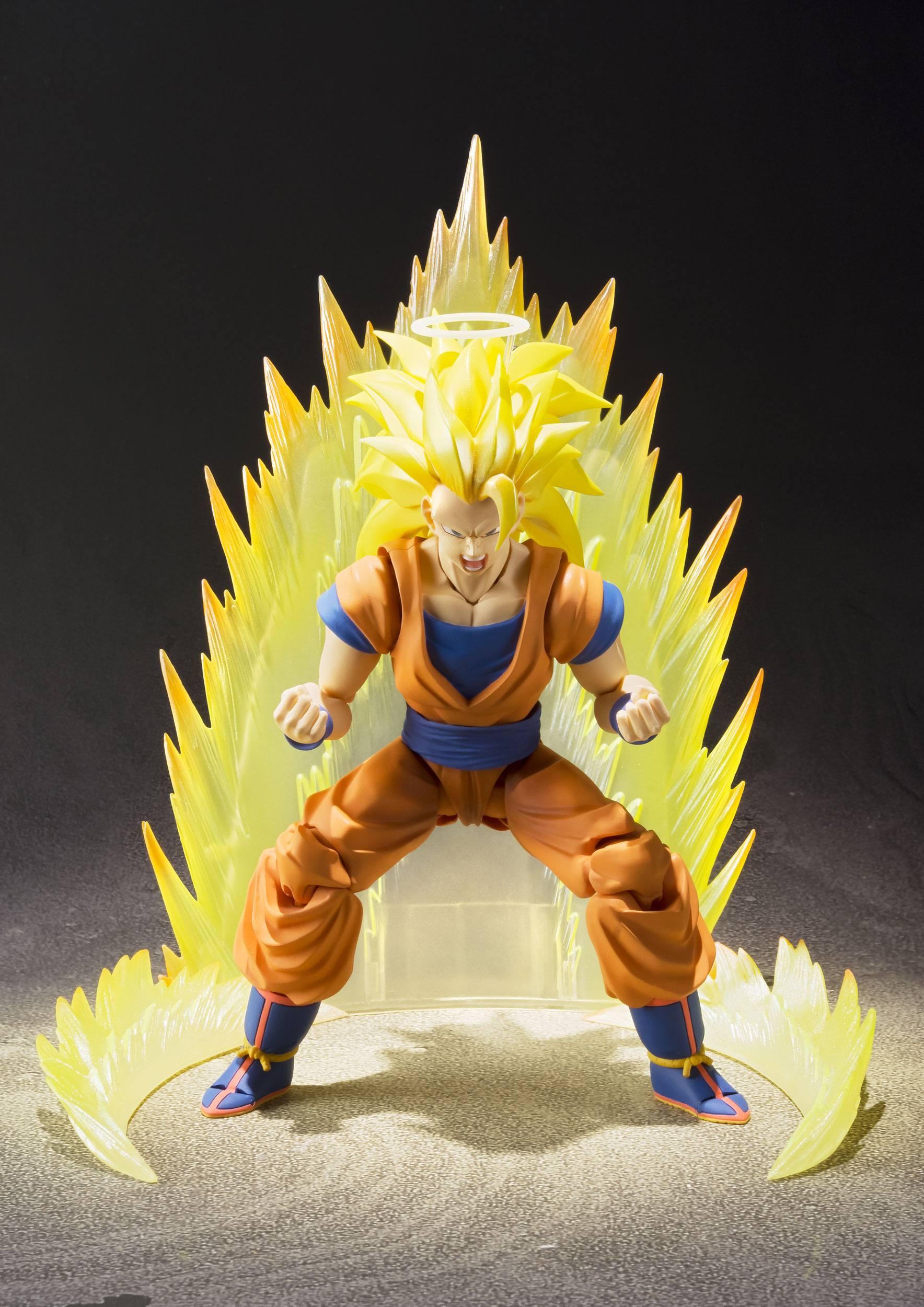 S.H.Figuarts Dragon Ball Z Super Saiyan 3 Son Gokou about 155mm figure