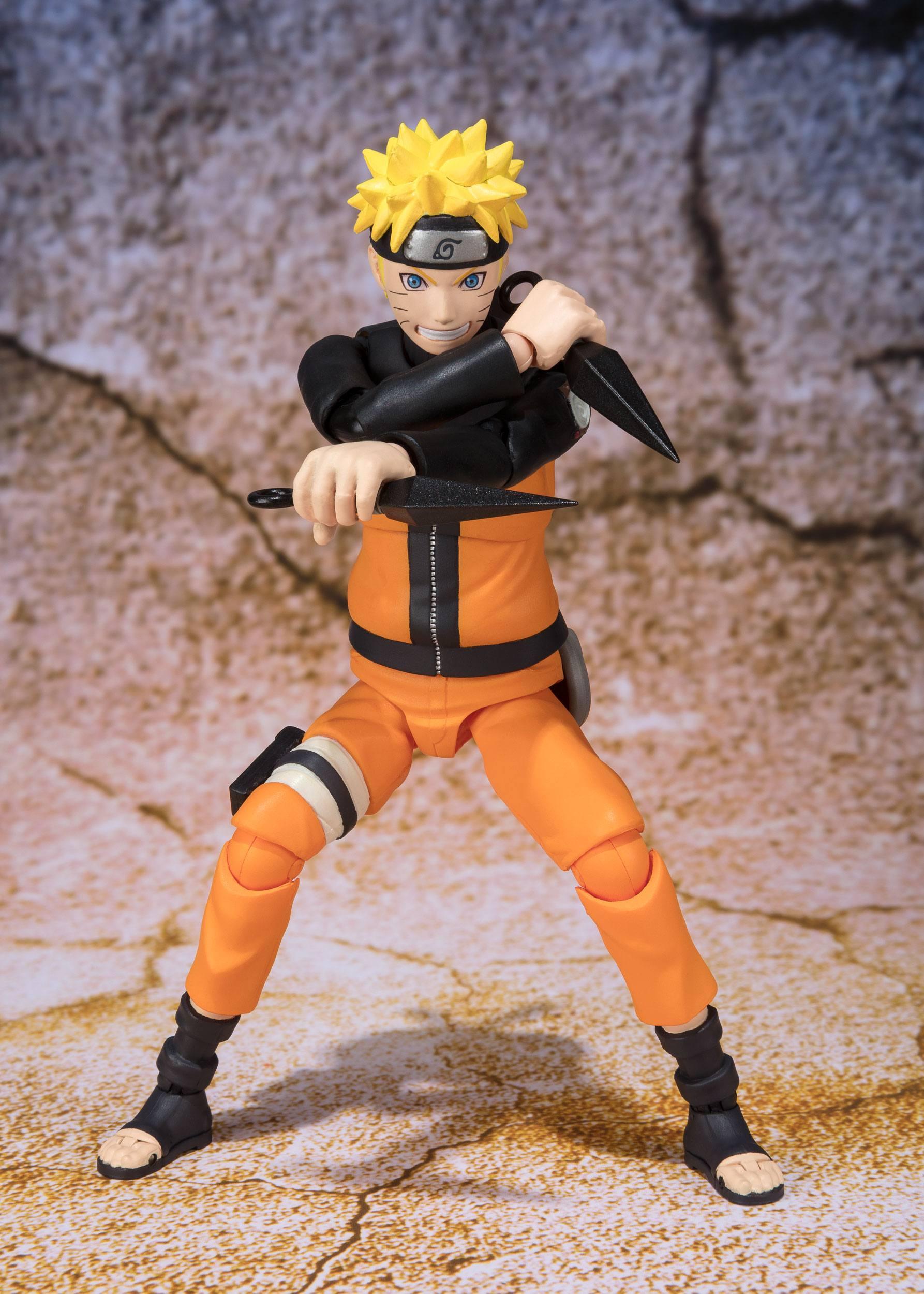 Shippuden SH Figuarts Naruto Uchiha Advanced Sage Mode Action Figure USA NO BOX