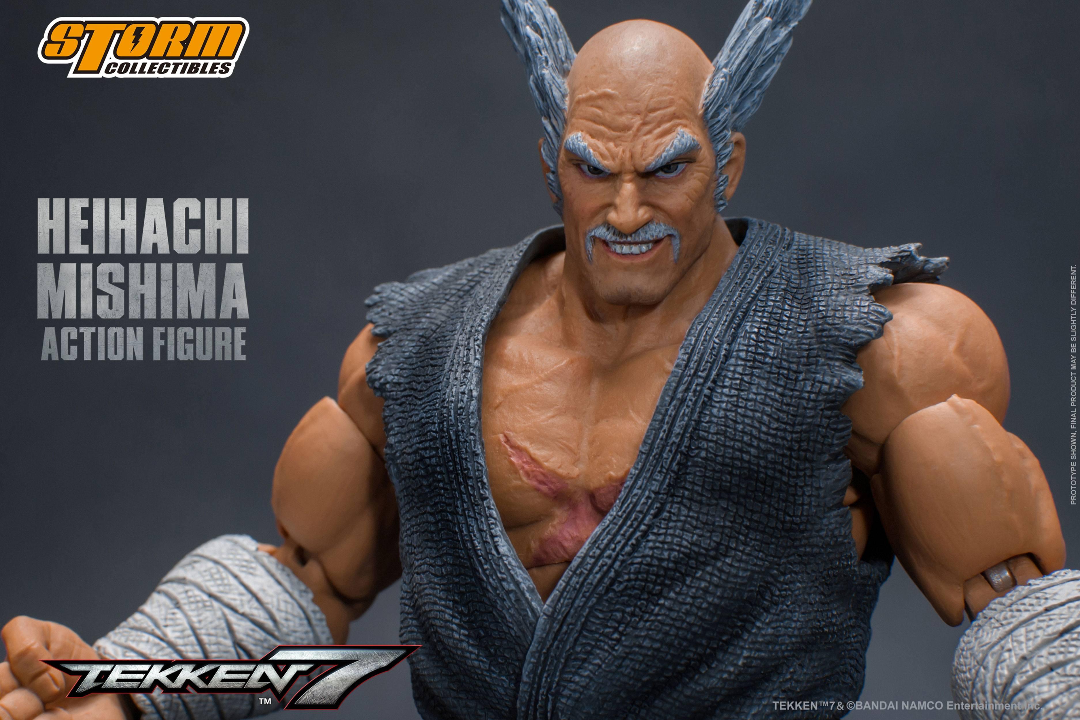 Tekken 7 Action Figure 1 12 Heihachi Mishima 17 Cm Animegami Store
