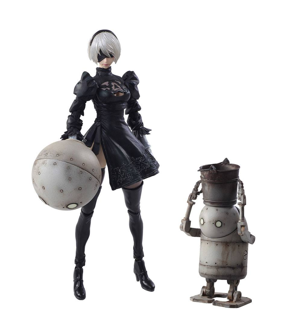 Premise Indicator Words: NieR Automata Bring Arts Action Figures 2B & Machine