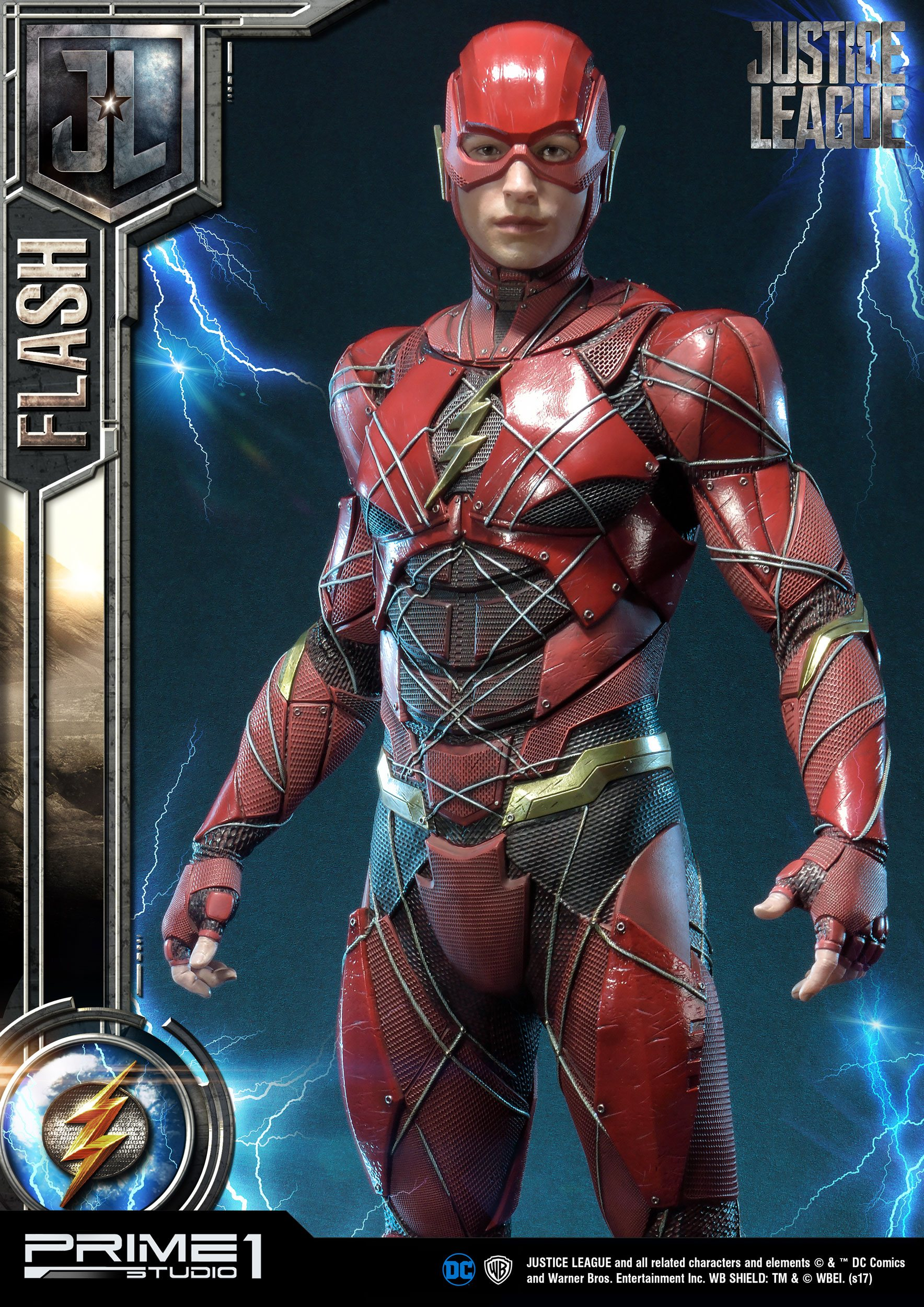 DC Comics Justice League Movie statue The Flash 32 cm