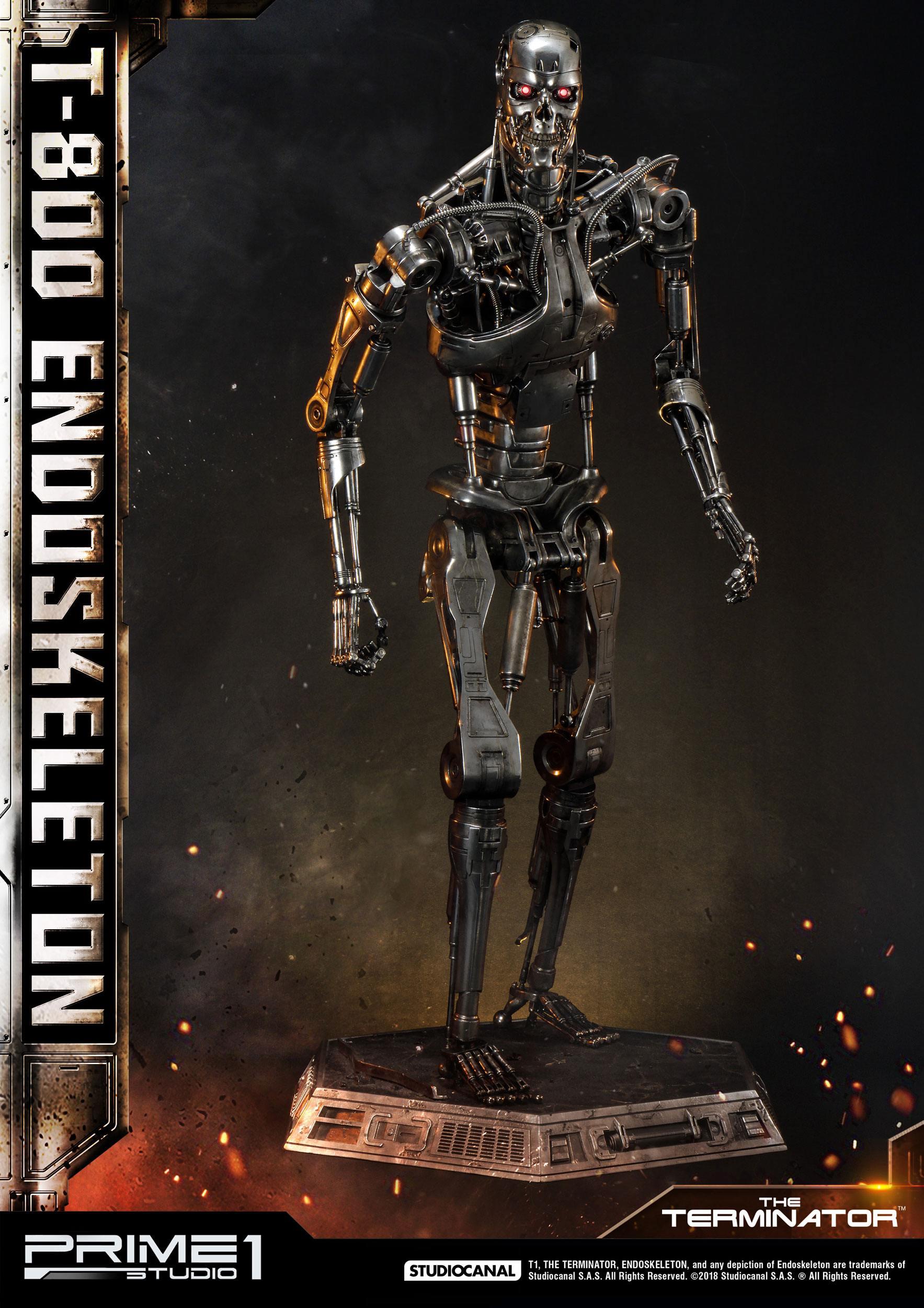 Terminator Statue 1/2 T-800 En...