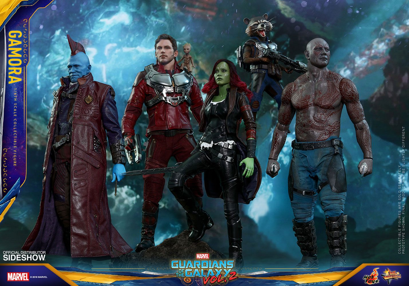 Guardians Of The Galaxy Vol 2 Movie Masterpiece Action Figure 1 6 Gamora 28 Cm Animegami Store