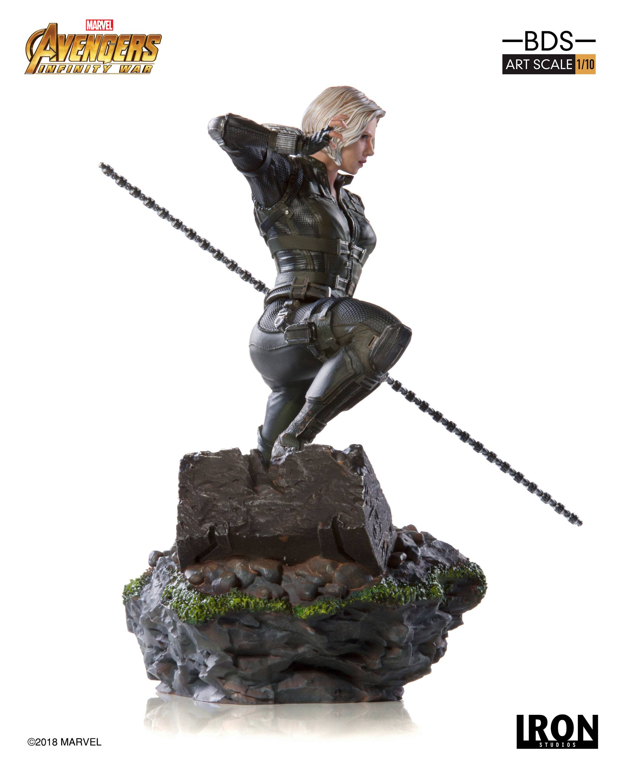 Avengers Infinity War BDS Art Scale Statue 1/10 Black Widow 18 cm - Animegami Store