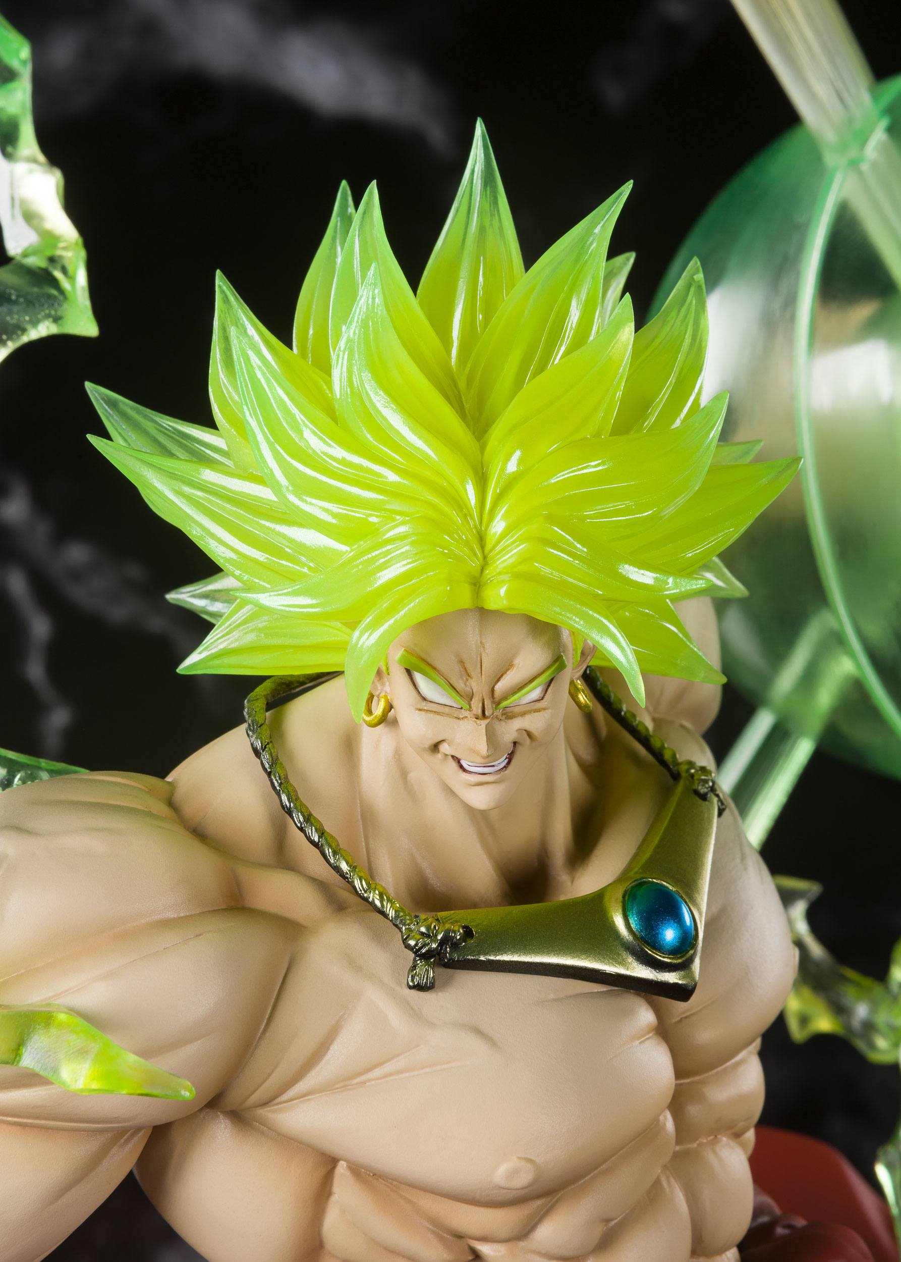 FIGURE 32cm THE BURNING BATTLES FIGURA SUPER SAIYAN BROLY DRAGON BALL