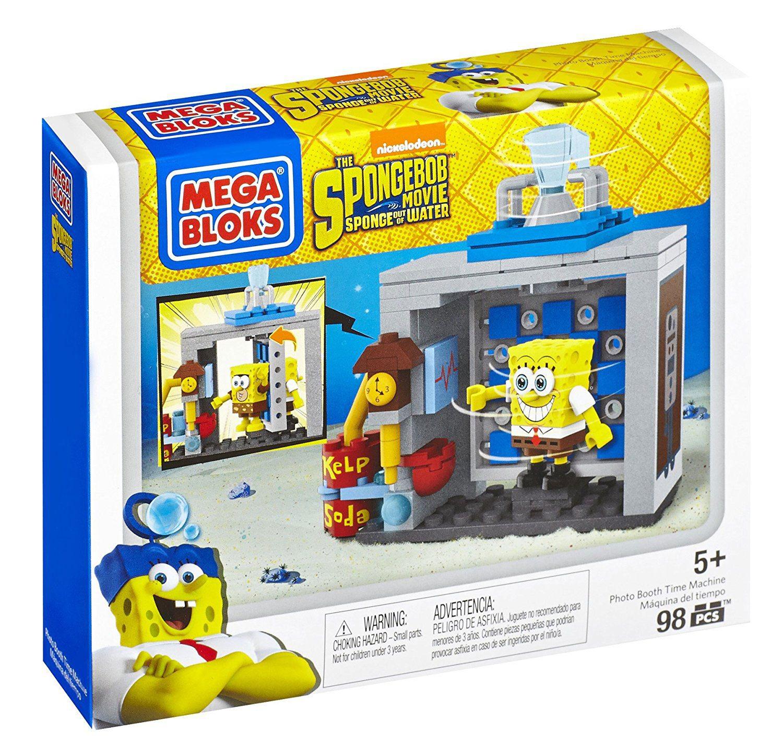 SpongeBob SquarePants Mega Bloks Construction Set Photo ...