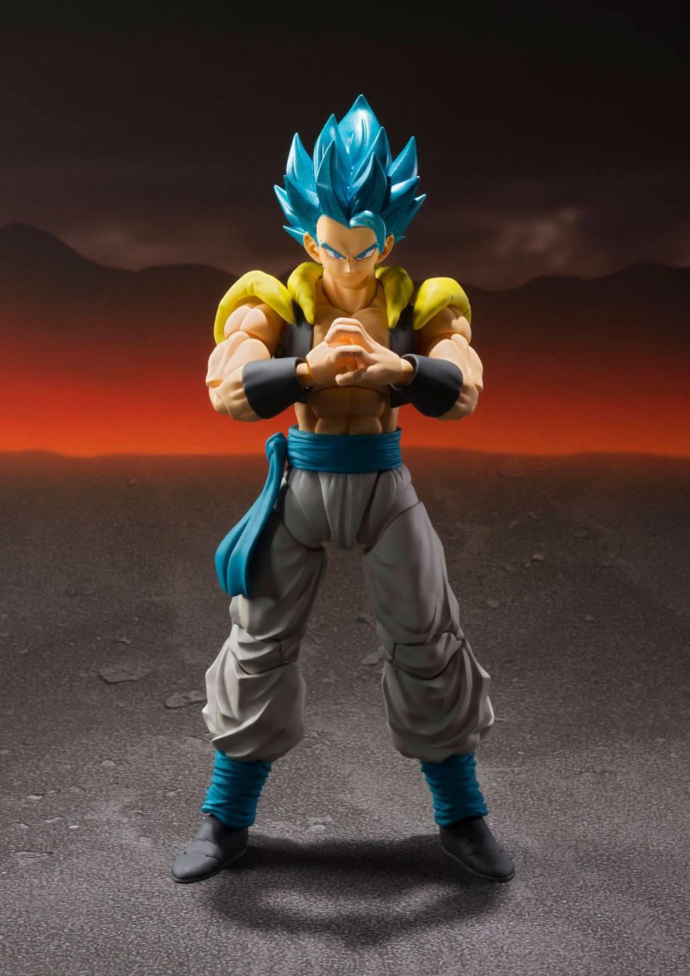 Dragon Ball Super Saiyan 4 Goku Gogeta Super Broli Action Figure Anime Toys