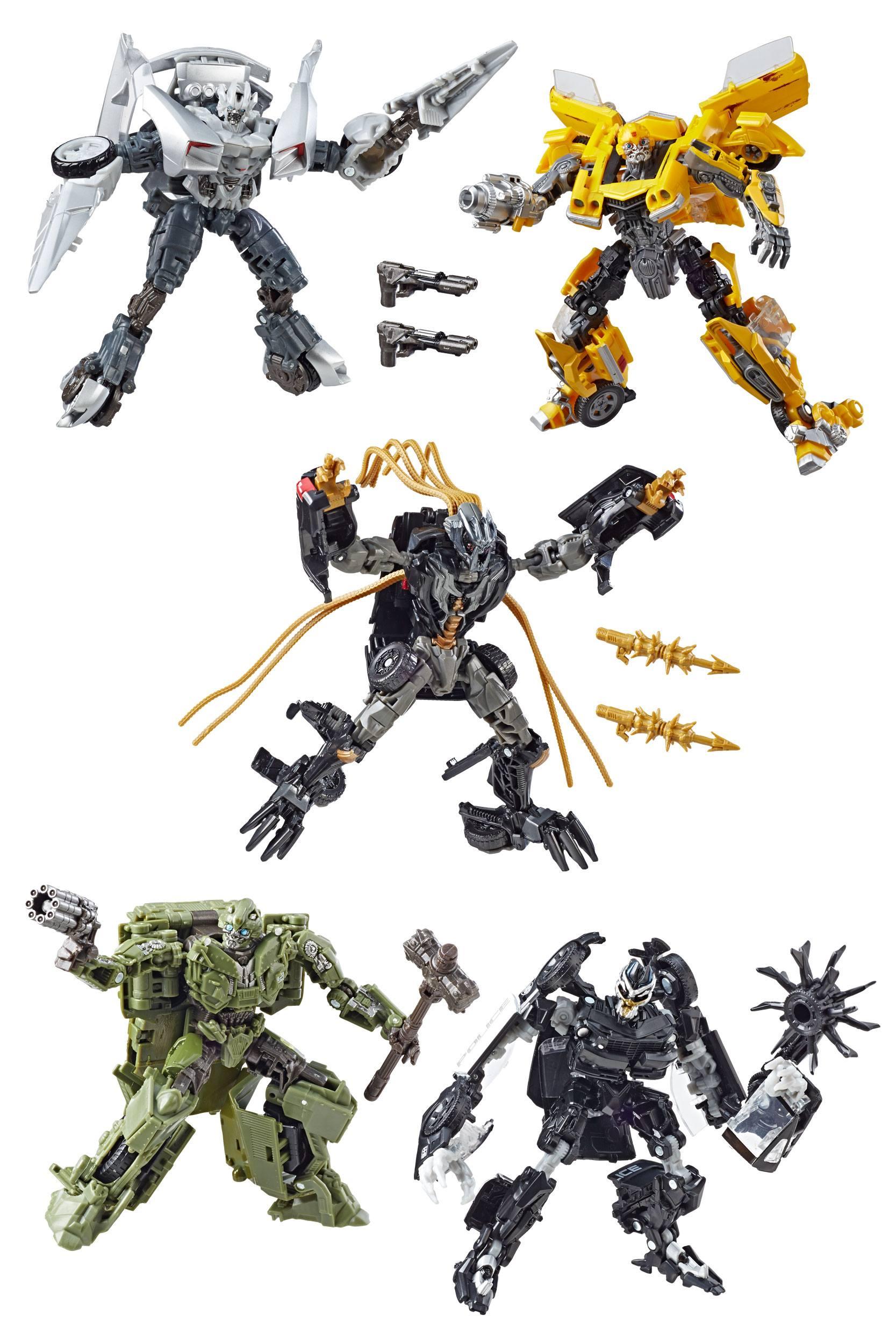 Transformers Studio Series Deluxe Class Action Figures 2019 Wave 1  Assortment (8)
