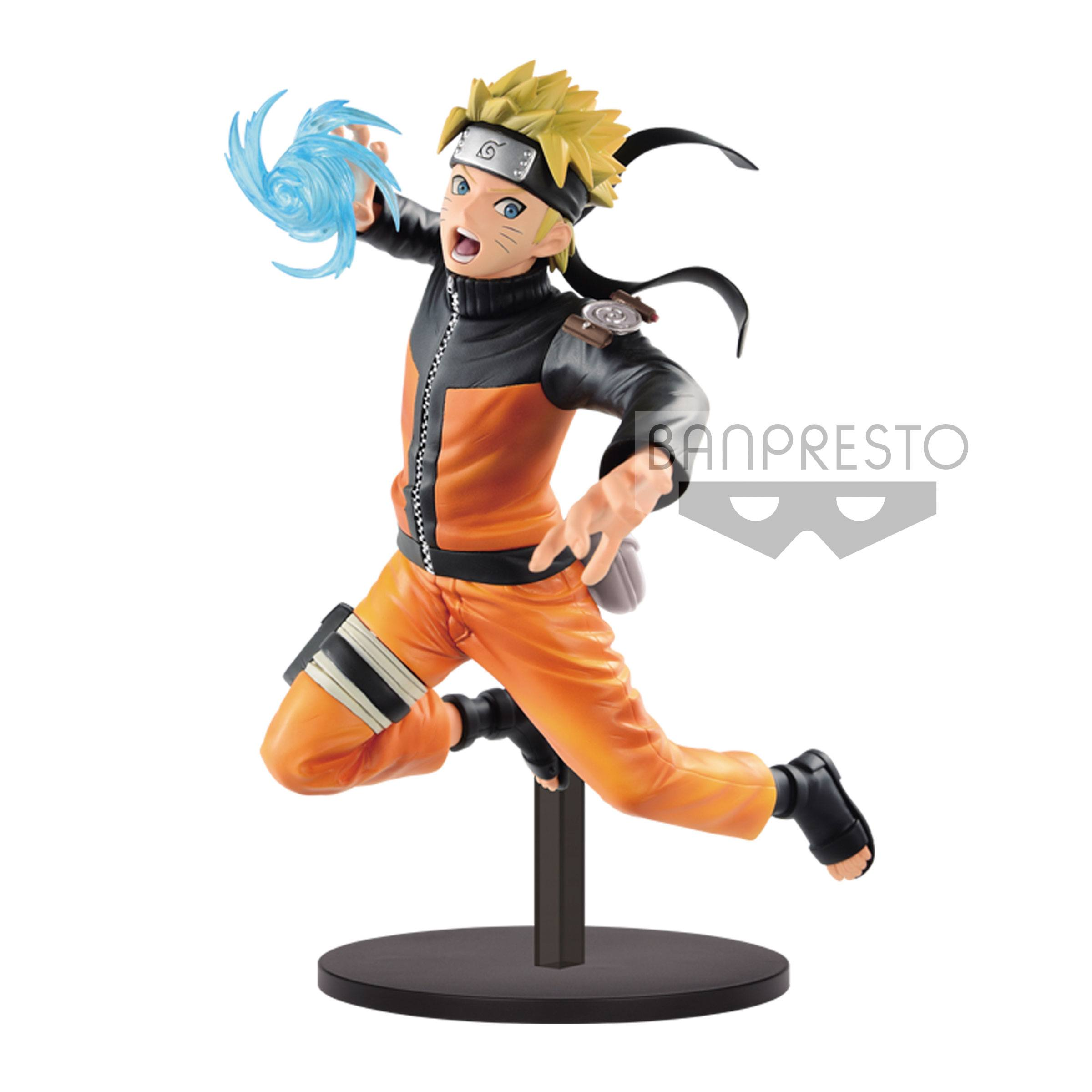 Naruto Shippuden Vibration Stars Figure Uzumaki Naruto 17 cm  Animegami Store
