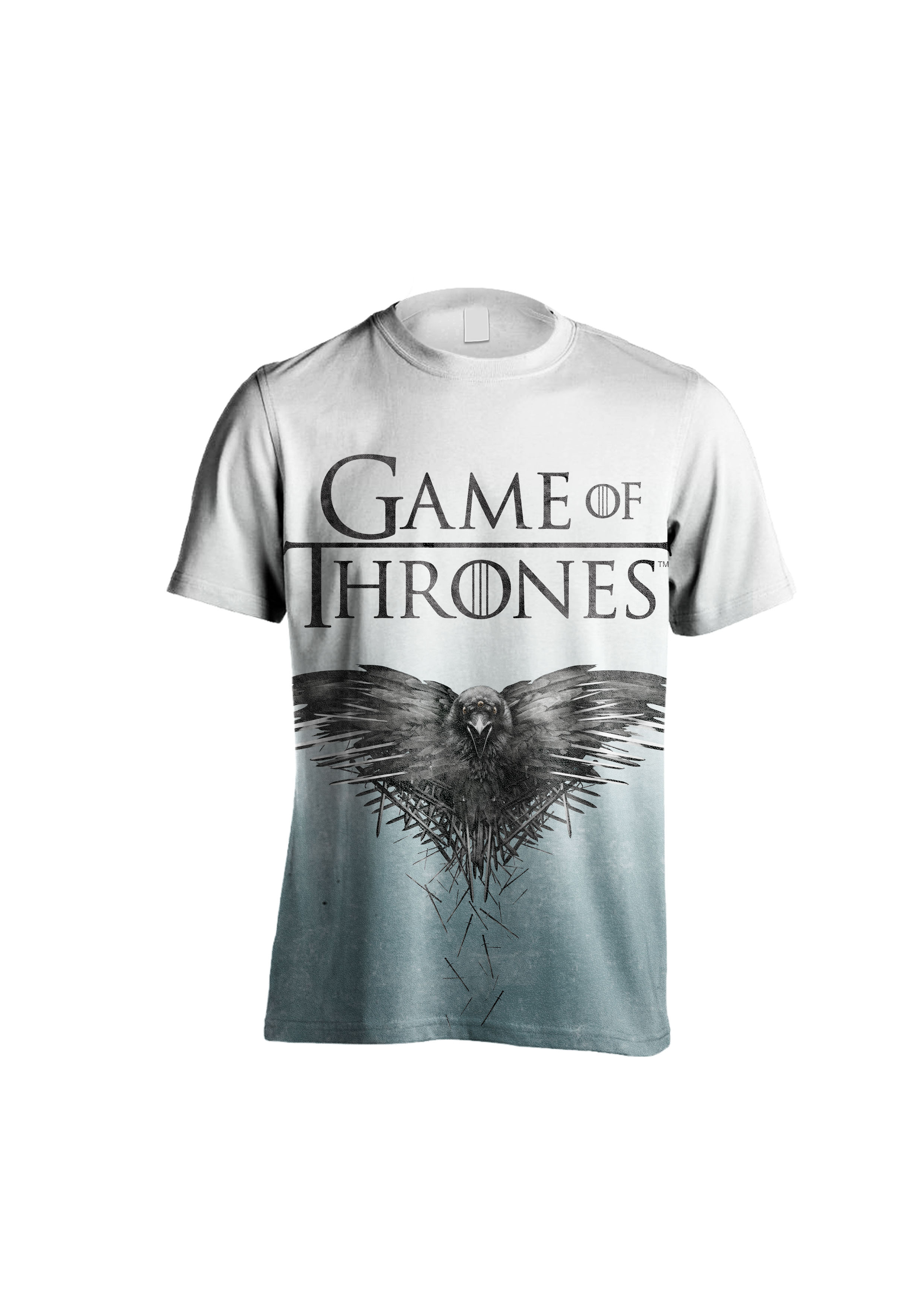 0328be65 (XL Size) Game Of Thrones – Raven Sublimation T-Shirt