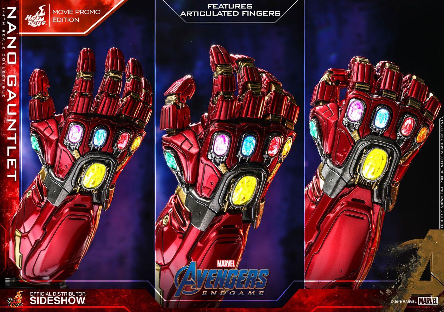 Avengers: Endgame Replica 1/4 Nano Gauntlet 19 cm - Animegami Store