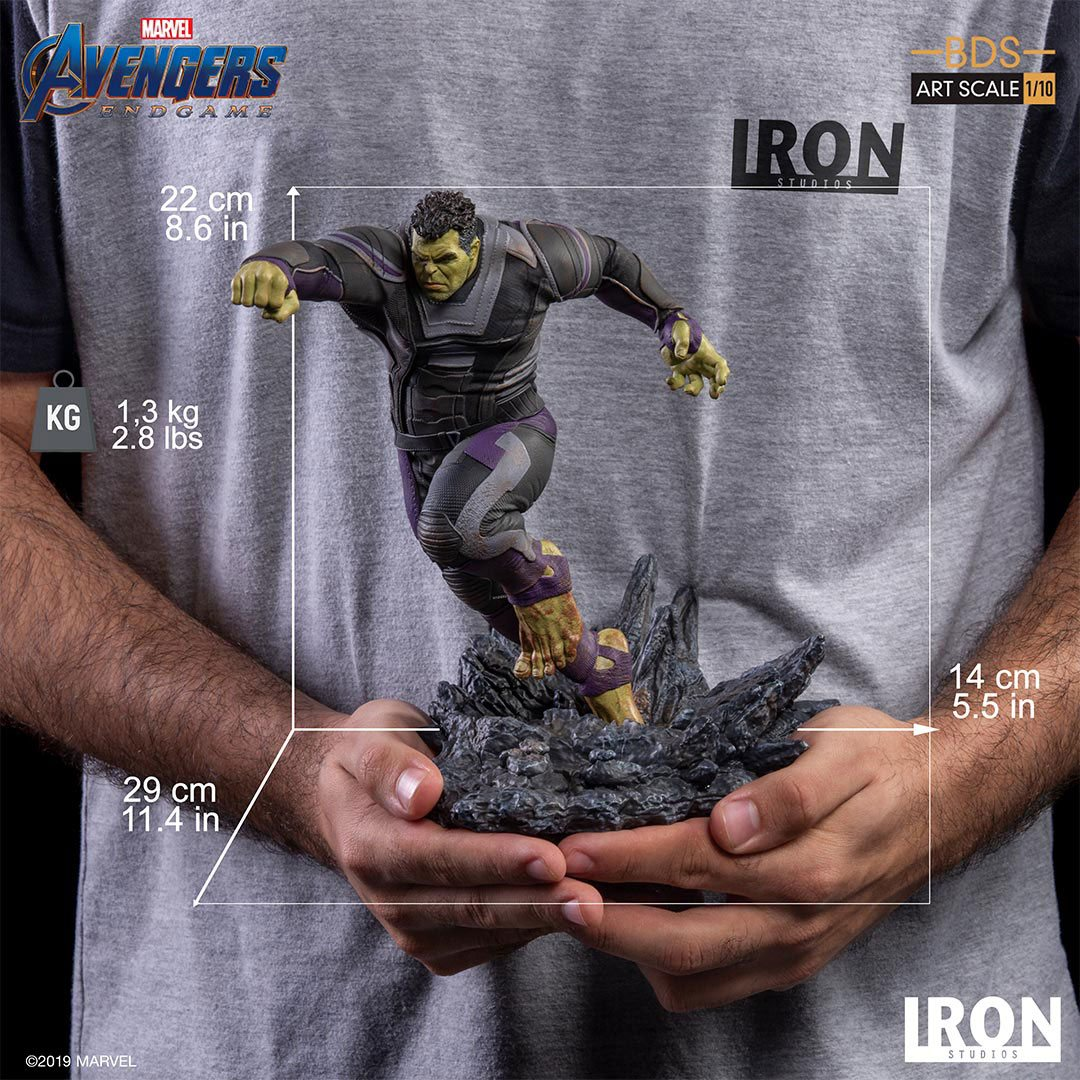 Avengers: Endgame BDS Art Scale Statue 1/10 Hulk 22 cm - Animegami Store
