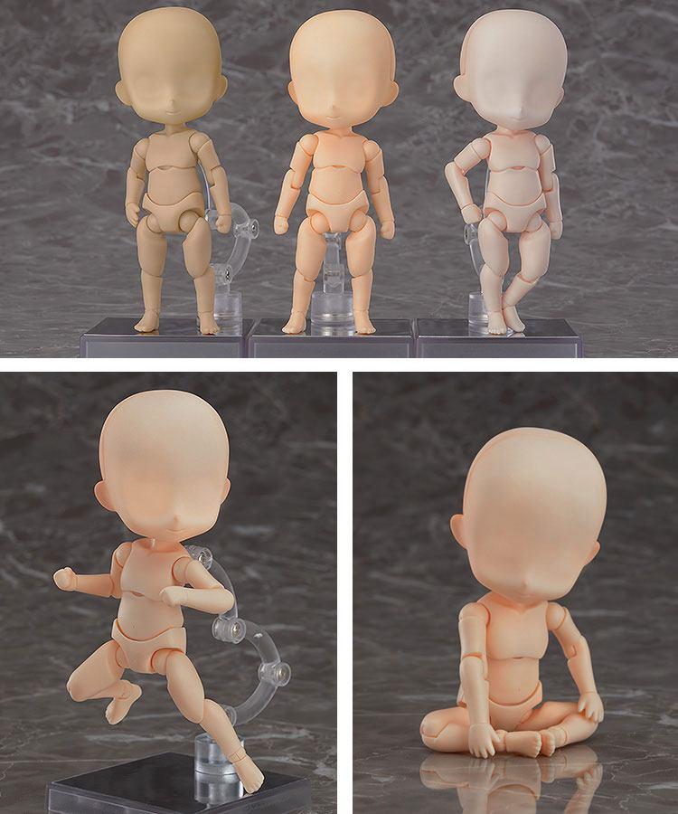 Doll Archetype Boy Girl Figure New In Box 10cm