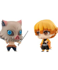 Demon Slayer: Kimetsu no Yaiba Chimimega Buddy Series Figure 2-Pack Zenitsu & Inosuke DX 7 cm