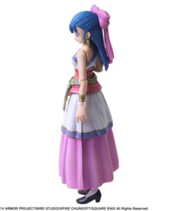 Dragon Quest V The Hand of the Heavenly Bride Bring Arts Action Figure Nera 14 cm