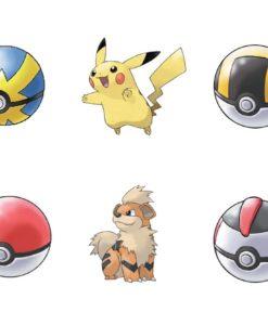 Pokémon Clip 'N' Go Pokéball Belt Wave 5 Assortment (4)