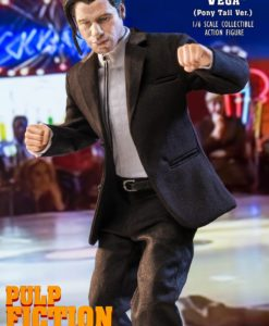 Pulp Fiction My Favourite Movie Action Figure 1/6 Vincent Vega 2.0 (Pony Tail) Deluxe Version 30 cm