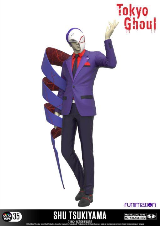 Tokyo Ghoul Color Tops Action Figure Shu Tsukiyama 18 cm