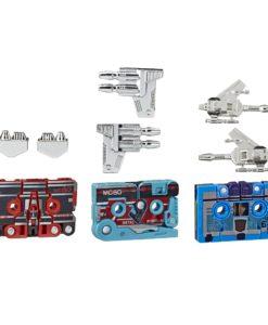 Transformers Generations Action Figures 3-Pack Vintage G1 Mini-Cassettes HasCon 2019 Exclusive