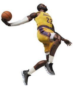NBA MAF EX Action Figure LeBron James (LA Lakers) 18 cm