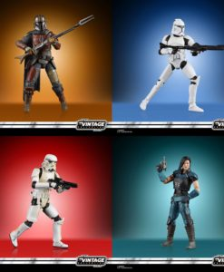 Star Wars Vintage Collection Action Figures 10 cm 2020 Wave 1 Assortment (8)