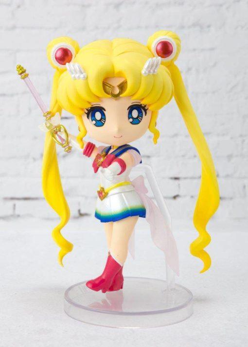 Sailor Moon Eternal Figuarts mini Action Figure Super Sailor Moon 9 cm