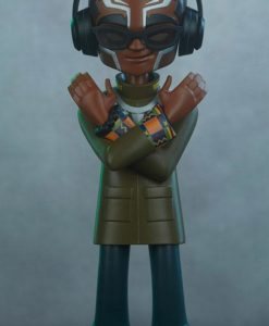 Marvel Designer Series Vinyl Statue Black Panther by kaNO 21 cm