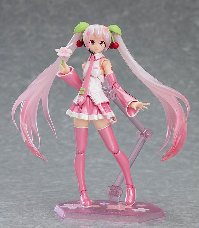 Character Vocal Series 01: Hatsune Miku Figma Action Figure Sakura Miku 14 cm