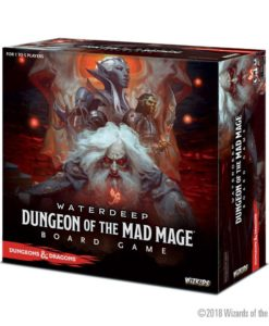 Dungeons & Dragons Board Game Waterdeep Dungeon of the Mad Mage Standard Edition *English Version*