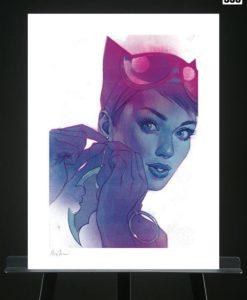 DC Comics Art Print Catwoman #7 46 x 61 cm - unframed