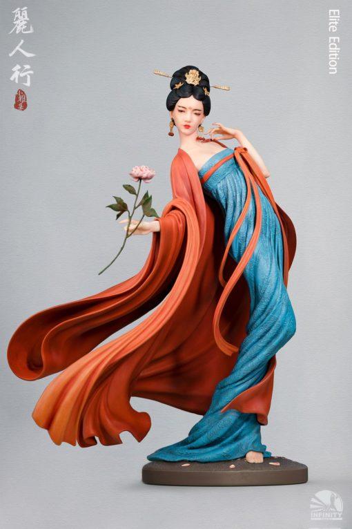 Infinity Studio Elegance Beauty Series Statue Satire on Fair Ladies Elite Edition 34 cm