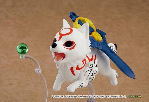Okami Nendoroid Action Figure Amaterasu DX Version 10 cm