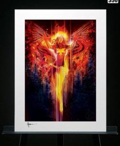 Marvel Art Print Dark Phoenix 46 x 61 cm - unframed