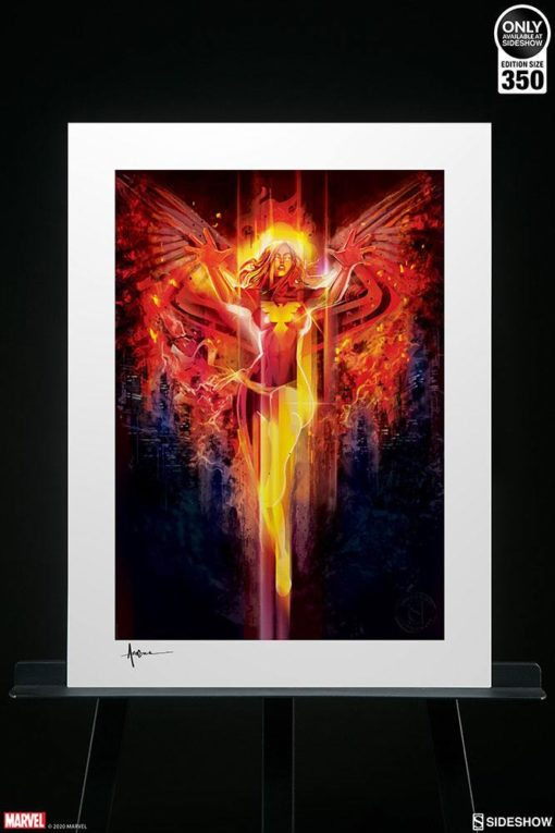 Marvel Art Print Dark Phoenix 46 x 61 cm – unframed