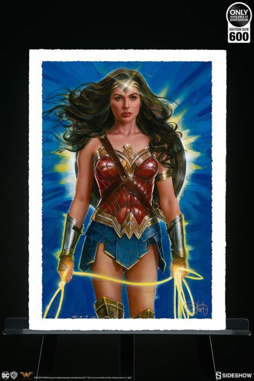 DC Comics Art Print Wonder Woman: Lasso of Truth 46 x 61 cm – unframed