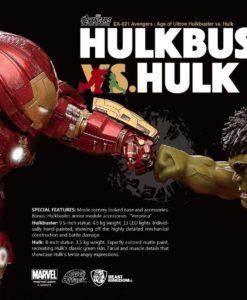Avengers Age of Ultron Egg Attack Statue 2-Pack Hulkbuster vs. Hulk 27 cm
