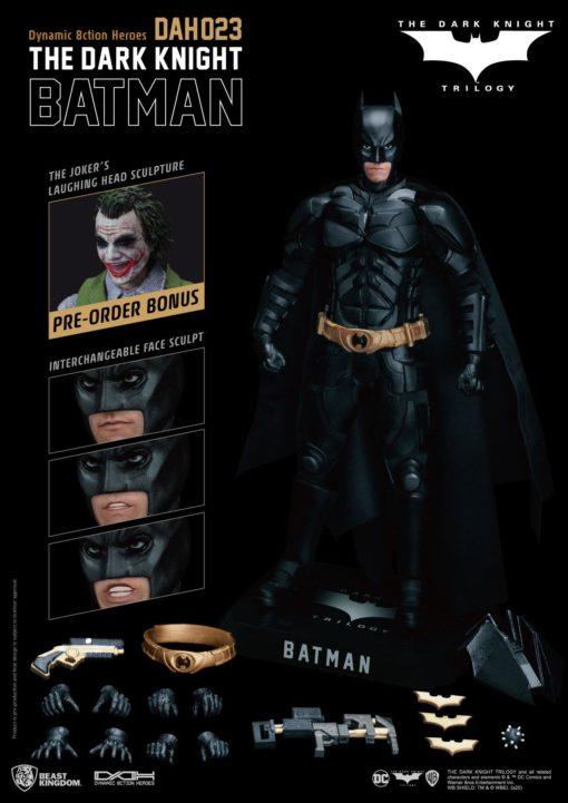 Batman The Dark Knight Dynamic 8ction Heroes Action Figure 1/9 Batman 21 cm