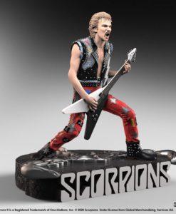 Scorpions Rock Iconz Statue Rudolf Schenker Limited Edition 22 cm
