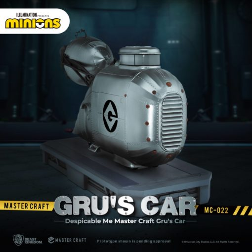 Despicable Me Master Craft Statue Gru's Car 26 cm