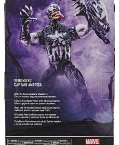 Spider-Man: Maximum Venom Marvel Legends Series Action Figure Venomized Captain America 15 cm