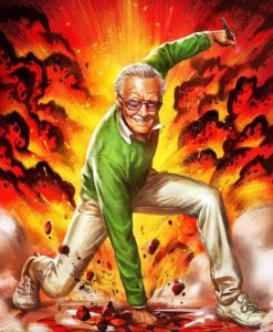 Marvel Art Print Stan Lee Excelsior! 46 x 61 cm - unframed
