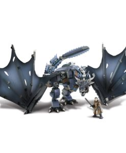 Game of Thrones Mega Construx Black Series Construction Set Ice Viserion Showdown
