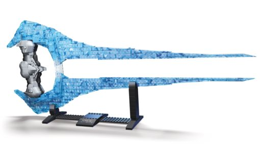 Halo Infinite Mega Construx Pro Builders Construction Set Energy Sword