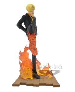 One Piece Log File Selection -Fight- PVC Statue Sanji 15 cm