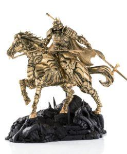 DC Comics Pewter Collectible Statue Gilt Batman Shogun Samurai Series Limited Edition 31 cm