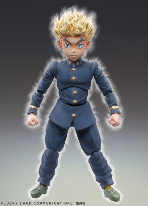 JoJo's Bizarre Adventure Super Action Action Figure Chozokado (Koichi Hirose & Ec Act 1) 9 cm