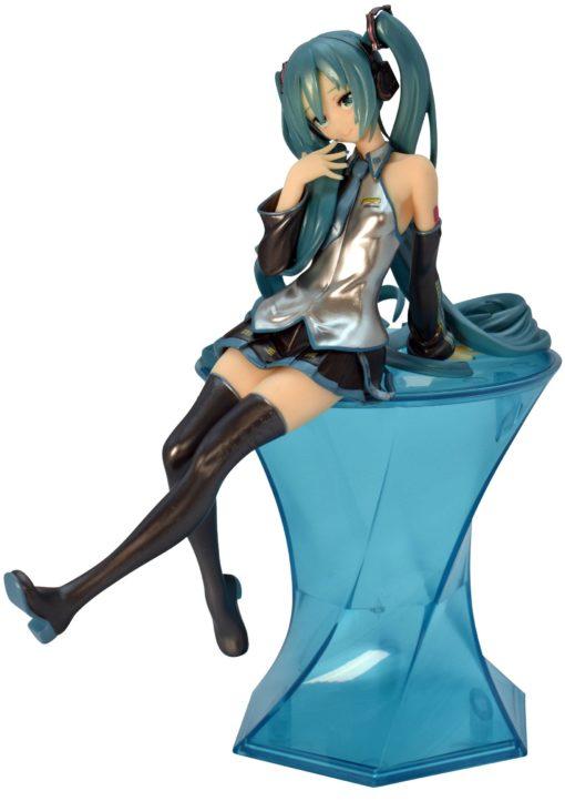 Vocaloid Noodle Stopper PVC Statue Hatsune Miku Pearl Color Ver. 20 cm