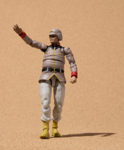 Mobile Suit Gundam G.M.G. Action Figure Earth Federation Army Soldier 02 10 cm